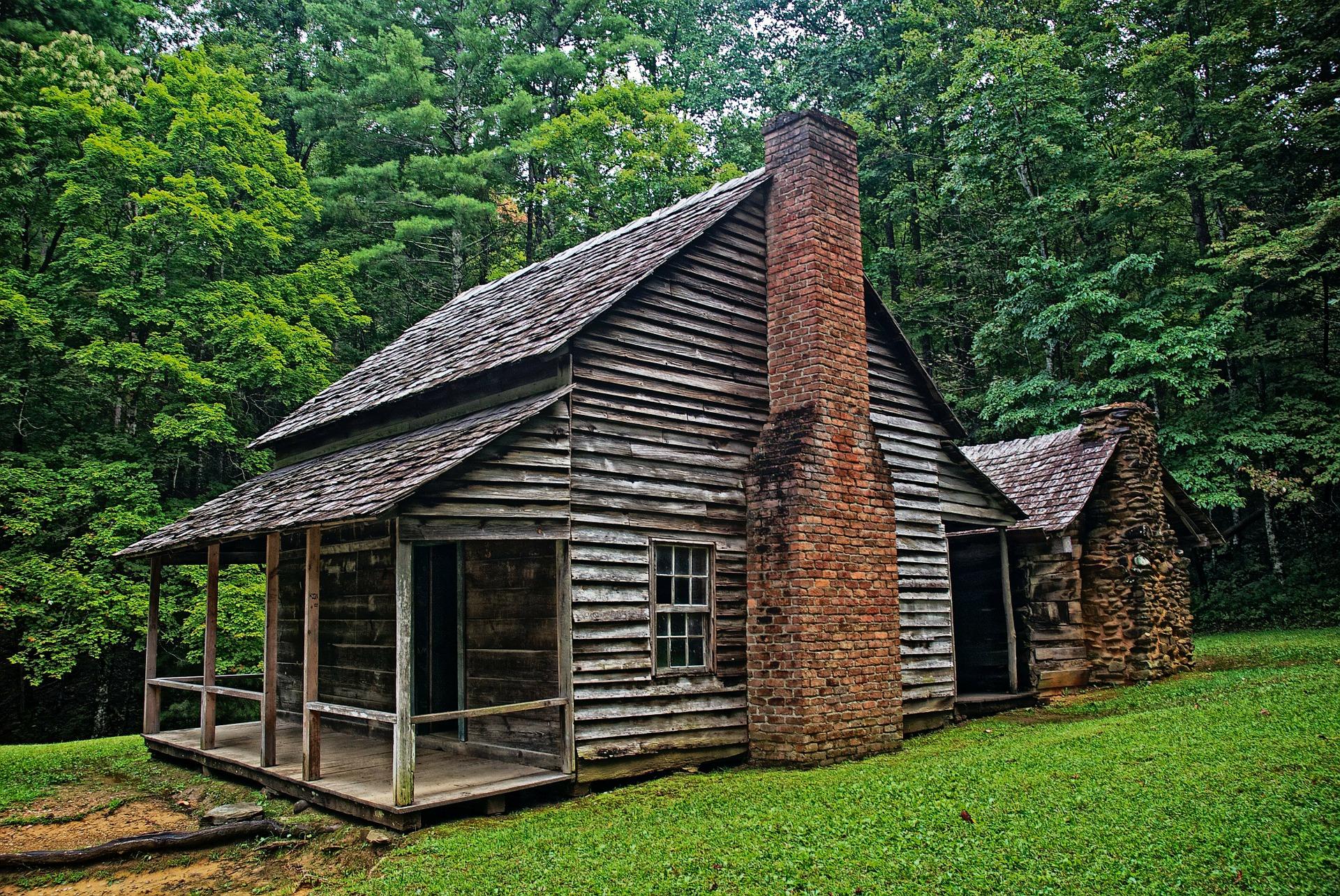 dům u lesa