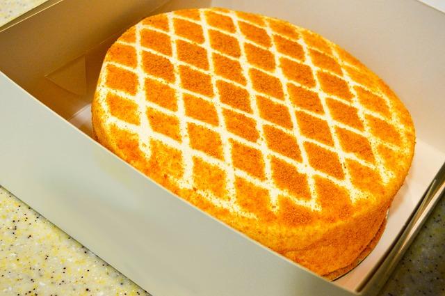 Medový dort s oříšky